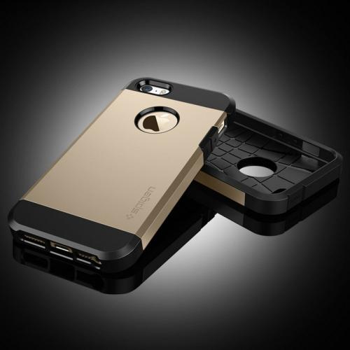 Tough armor kryt na iPhone 5S   SE - zlatá - Bakamo.sk - Kryty 14a979ae8e5