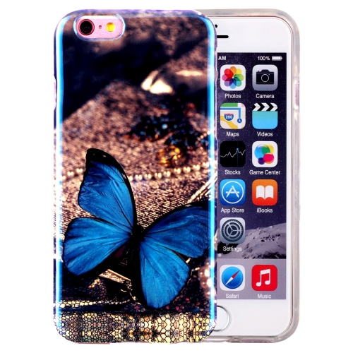 Gumový kryt Blue Butterfly na iPhone 6 - Bakamo.sk - Kryty d224093bfbf