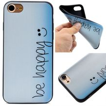 Gumový kryt Be happy na iPhone 7   iPhone 8 2948a0ba790