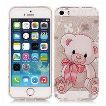 Gumový kryt Bear na iPhone 5S   SE 305ef6f5c09