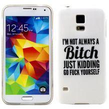 Gumový kryt Bitch na Samsung Galaxy S5 c5f3a8154fa