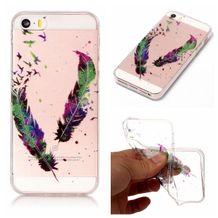 Gumový kryt Feather na iPhone 5S   SE 27d8df85768