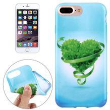 Gumový kryt Green heart na iPhone 7 Plus   iPhone 8 Plus 992faec9e23