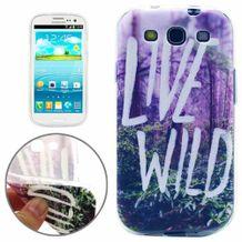 Gumový kryt Scenery of Wild na Samsung Galaxy S3 9a5dfac26de