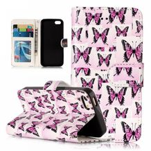 Pěneženkové pouzdro Butterfly na iPhone 5 5s 94ff6c6f57b