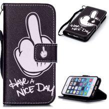 Pěneženkové pouzdro Have a Nice day na iPhone 5   5s b609bbcc50b