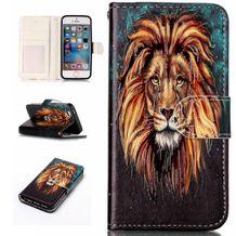 Pěneženkové pouzdro Lion na iPhone 5   5s d6b0d3c55c2